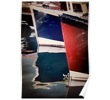 3 boats Poster