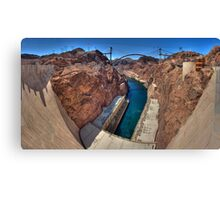 Hoover Dam -- The Other Side Canvas Print