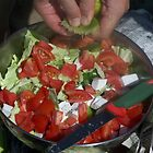 Homemade Salad by Angie Spicer