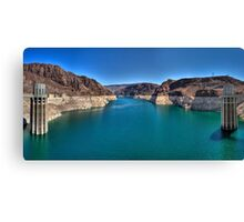 Hoover Dam --  Lake Mead Canvas Print