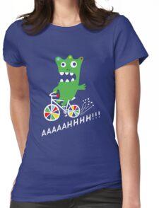 Critter Bike - dark Womens Fitted T-Shirt