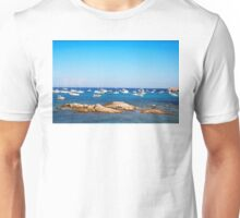 L´Escalet Beach, south of Saint Tropez, FRANCE Unisex T-Shirt