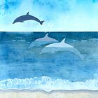 Three Dolphins by gooding