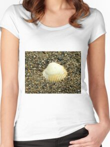 Cockle Shell Women's Fitted Scoop T-Shirt