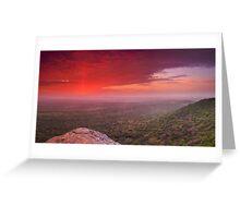 Intaba Inkosi; The Mountain of the King Greeting Card