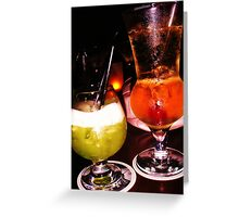 Cocktails, Kam-Pai, Cairns Greeting Card