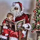 Reading with Santa by grinandbearit