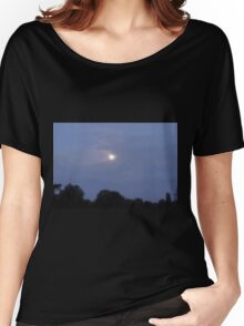 Cloud Swallows Moon Women's Relaxed Fit T-Shirt