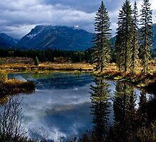 Moose Lake - The Most Northwest Part of Montana by John Glass