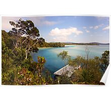 The majestic beauty of Nornalup Inlet Poster