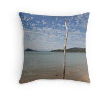 Dingo Beach  Throw Pillow