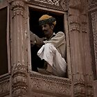 Guard at Jodhpur by Lidia D'Opera