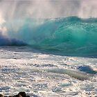 Big Blue Splash by Randy Richards