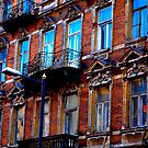 """City Life - """"Balconies, Windows, Shutters"""" p.5 by Denis Molodkin"""
