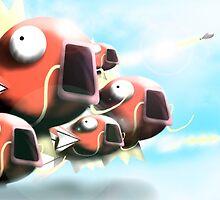 Magikarp Fleet by jBasir