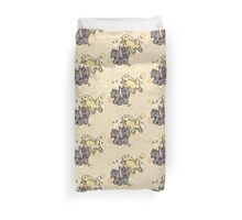 Honey Bunnies Duvet Cover
