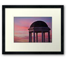 Stawell Lookout Pavilion,Dusk Framed Print