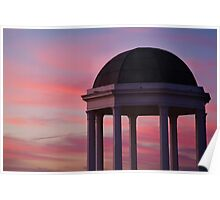 Stawell Lookout Pavilion,Dusk Poster