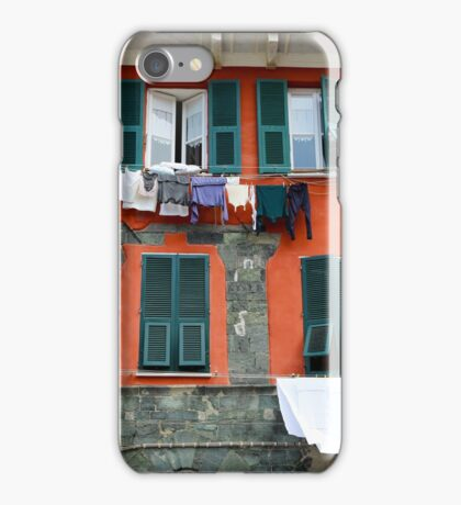 All About Italy. Piece 9 - Vernazza Windows iPhone Case/Skin