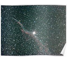 witches broom nebula NGC6960 Poster