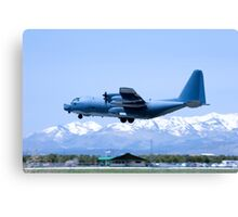Durango C-130 Touch-and-Go Canvas Print
