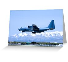 Durango Airplane Touch-and-Go Greeting Card