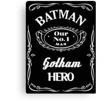 Batman Advert Canvas Print