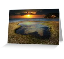 the shallows of heaven Greeting Card