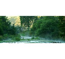 Crooked River,Talbotville Photographic Print