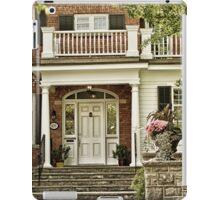Red Brick House in Autumn iPad Case/Skin