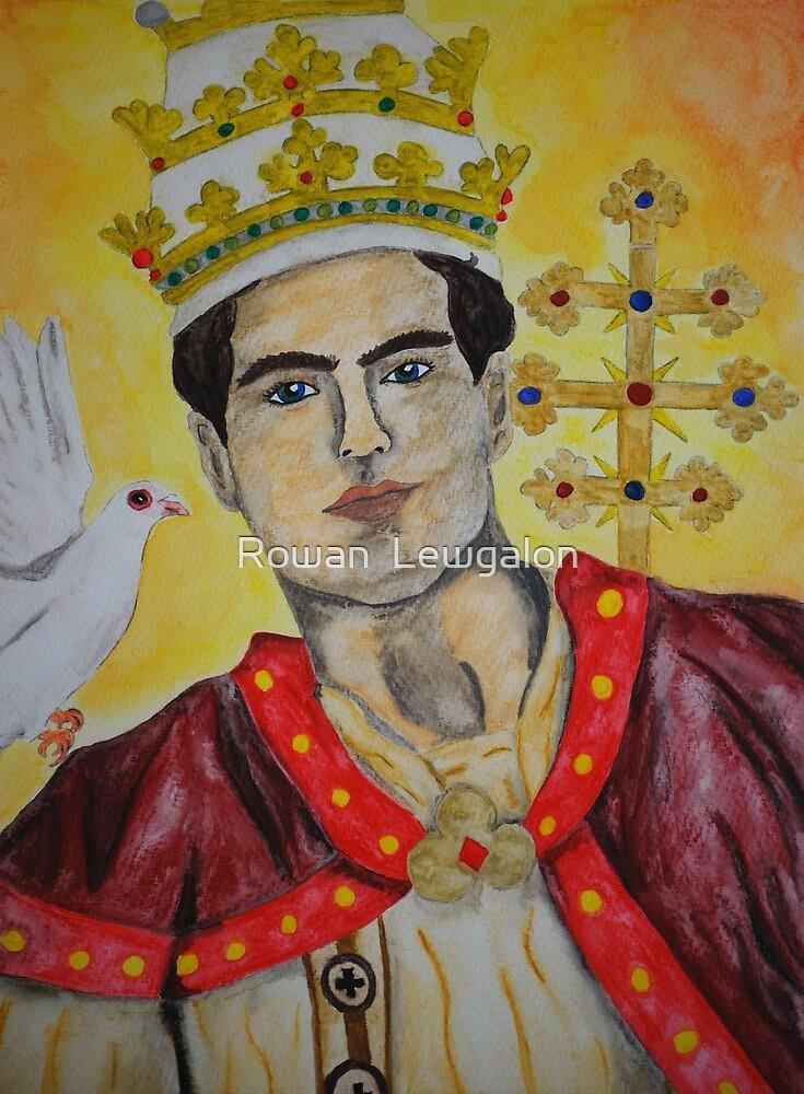 Saint Gregory the Great by Rowan  Lewgalon