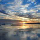 Redhead Beach Sunset by Bev Woodman