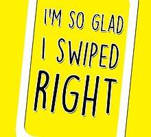 I'm so glad I swiped right by fashprints