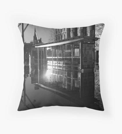 Waterbus Shelter Throw Pillow