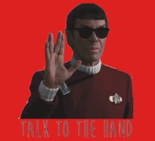 Talk to the Hand - Spock Baby Tee