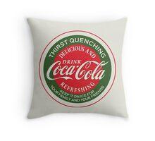 Coca Cola Ad #7 Throw Pillow