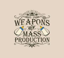 Weapons of Mass Production Womens Fitted T-Shirt