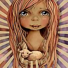 St Agnes and the Lamb by © Karin  Taylor