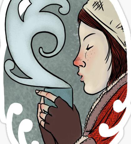 Frozen tee Sticker