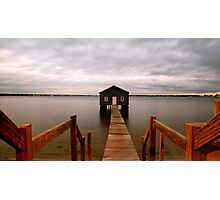 Crawley Boat Shed Photographic Print