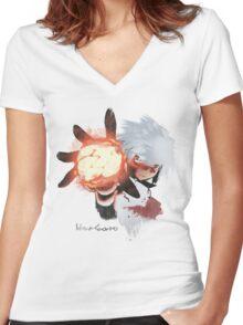 FIREBOLT! Women's Fitted V-Neck T-Shirt