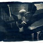 Cyanotype - Toned with Coffee by David Amos