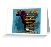 Triple Crown Winners 2015 Greeting Card