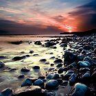 Llantwit Major Sunset - Wales by ajcronin