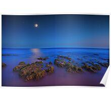 Seaside-Algarve Poster