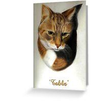 Tabby Greeting Card