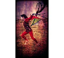 ...the kite... Photographic Print