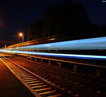 Blue Streak Express by Kevin Cotterell