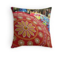 SHADE IN COLOR Throw Pillow
