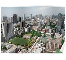 The View from Tokyo Tower  Poster